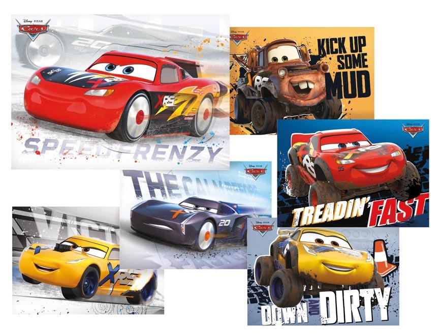 pohľadnica sr Y028 F Disney (Cars) UV 1230318