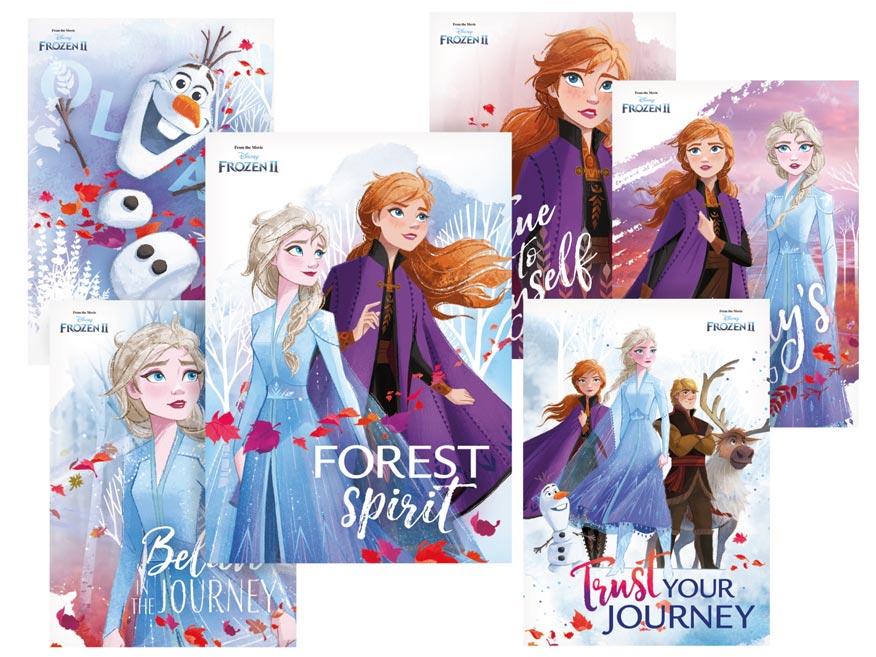 pohľadnica sr Y029 F Disney (Frozen) UV 1230319