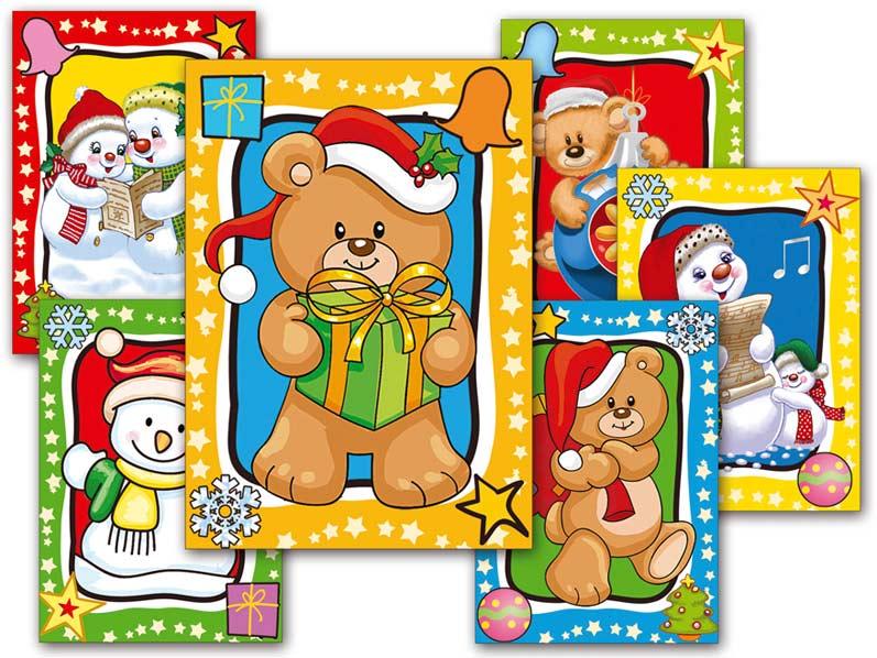 Pohľadnica vianočná 079 B UV