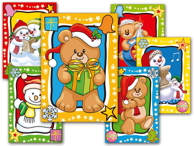 SK Pohľadnica vianočná 079 B UV lak