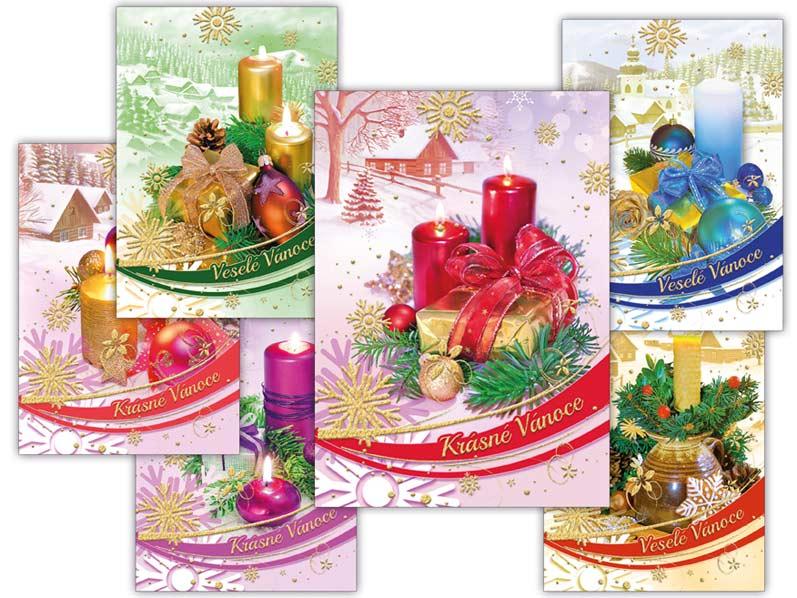 Pohľadnica vianočná m 126 A