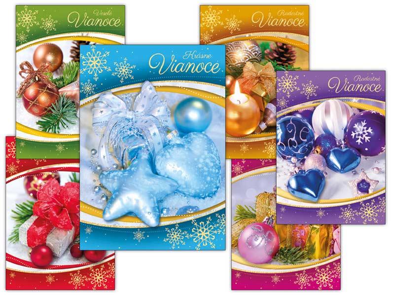 SK Pohľadnica vianočná m 128 A