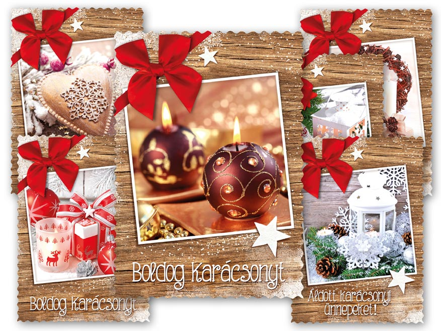 Képeslap, karácsonyi 135 C