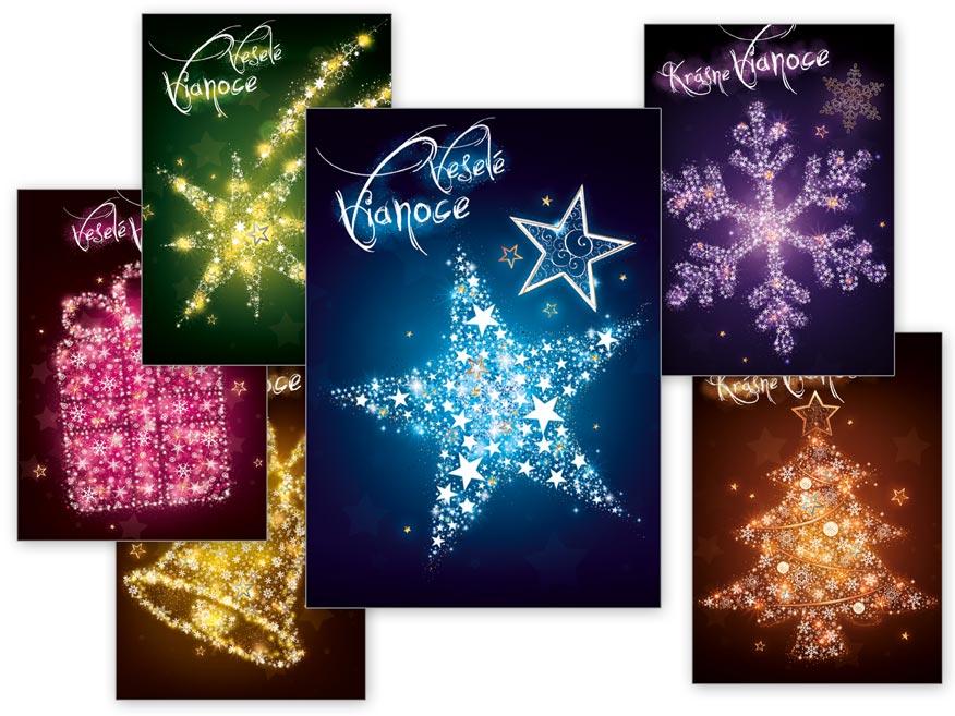 sK Pohľadnica vianočná m 137 d sametové lamino 1240768