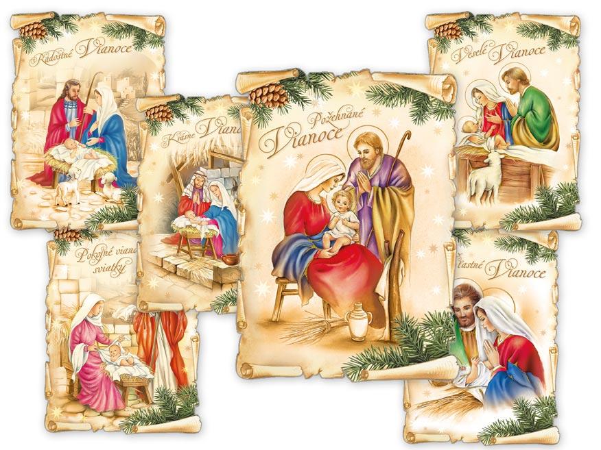 SK Pohľadnica vianočná m 139 c výsek