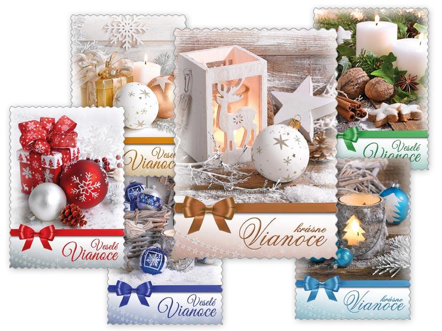 sK Pohľadnica vianočná m 141 d výsek+UV 1240772
