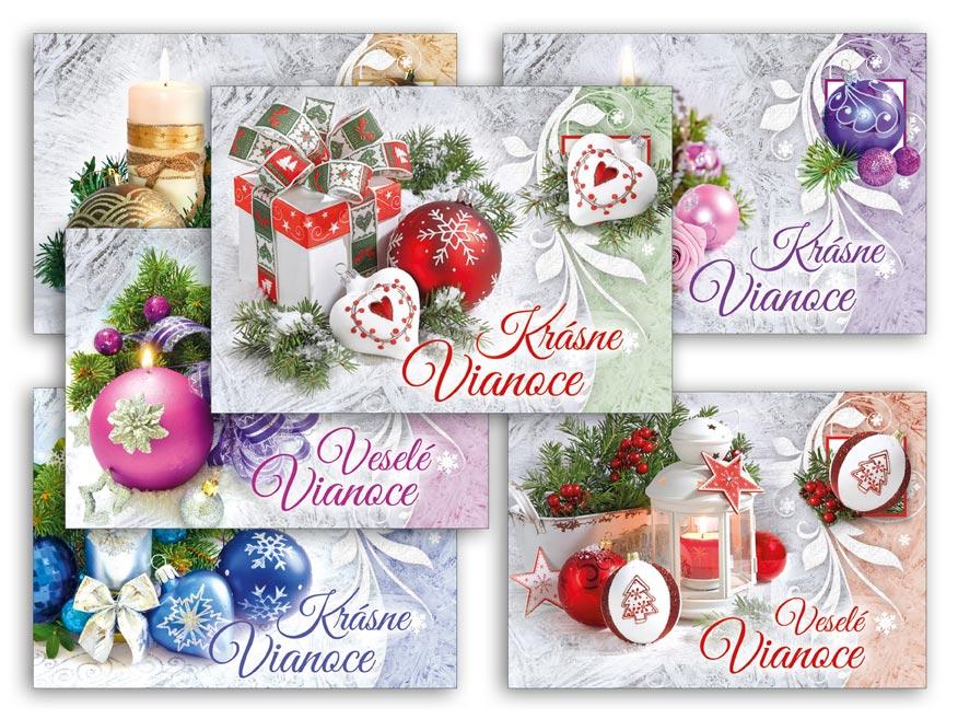 SK Pohľadnica vianočná m 147 B UV