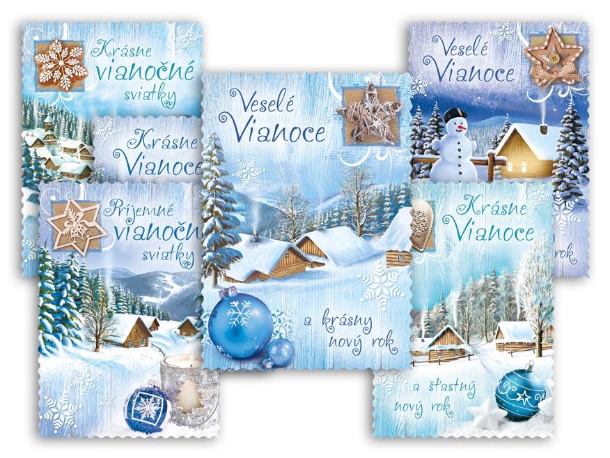 SK Pohľadnica vianočná m 149 C výsek