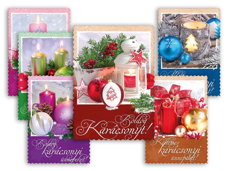 Képeslap, karácsonyi 145 C výsek