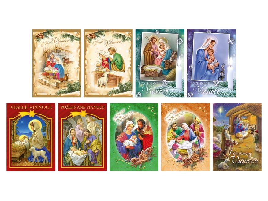 sK Pohľadnica vianočná náboženské 002 1240831