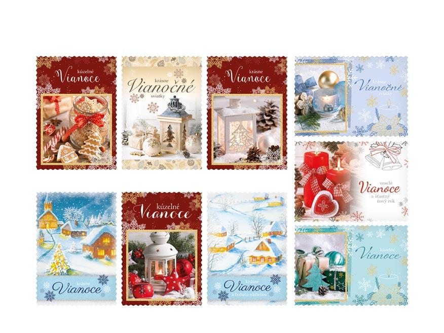 sK Pohľadnica vianočná LUX všeobecné 003 1240832
