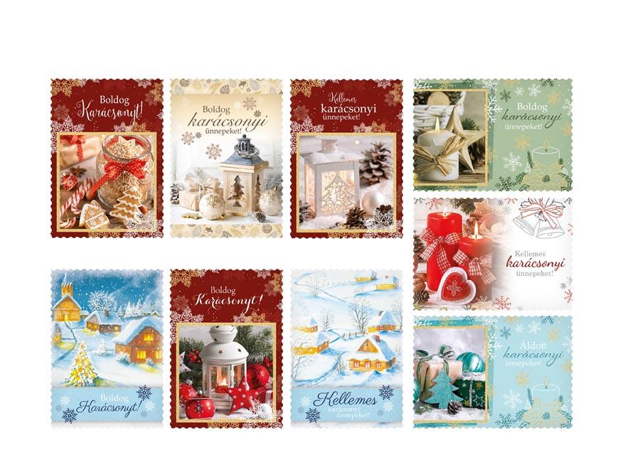 hU Pohľadnica vianočná LUX všeobecné 005 1240834