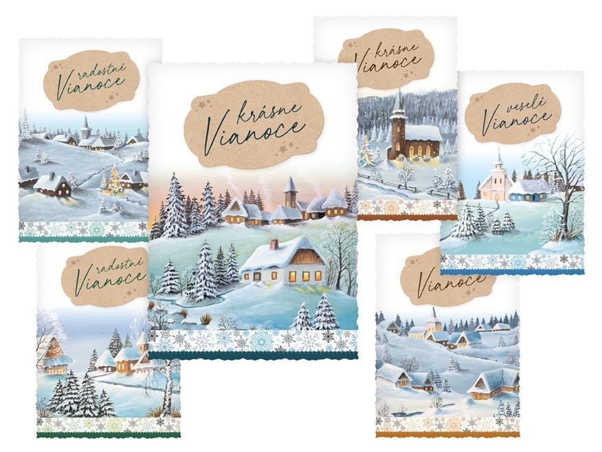 sK Pohľadnica vianočná m 159 C výsek 1240842