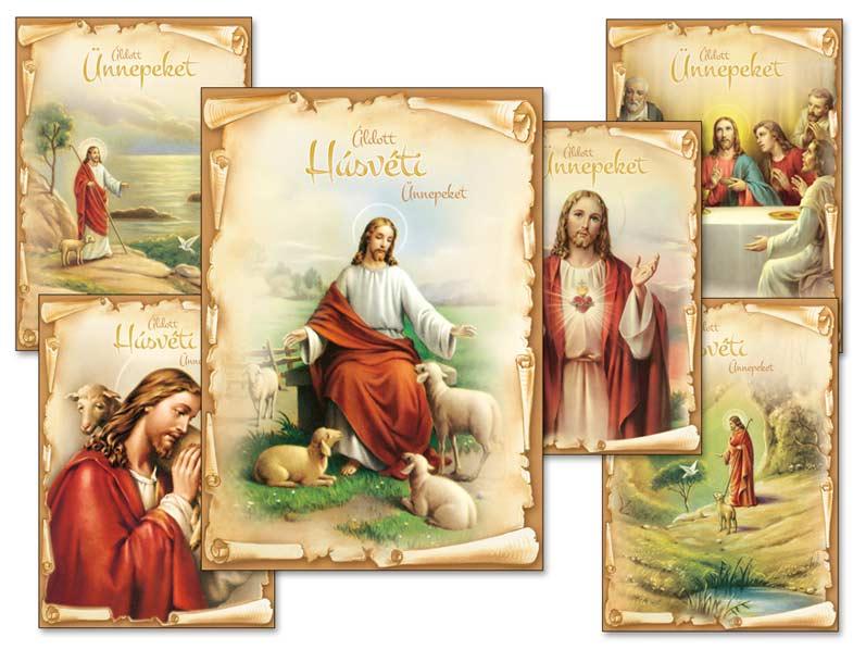Képeslap húsvéti 093 A