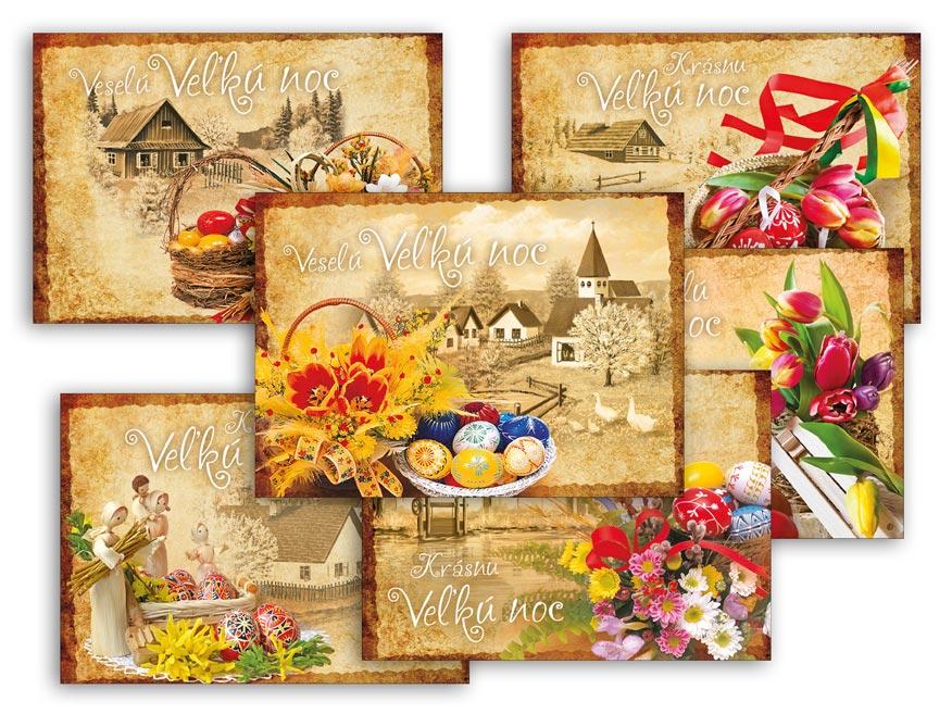 sK Pohľadnica veľká noc 105 A 1300137