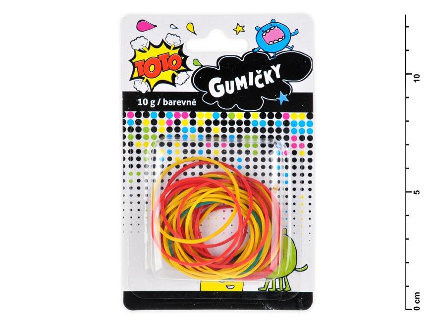 Gumičky 838001 farebné 10g