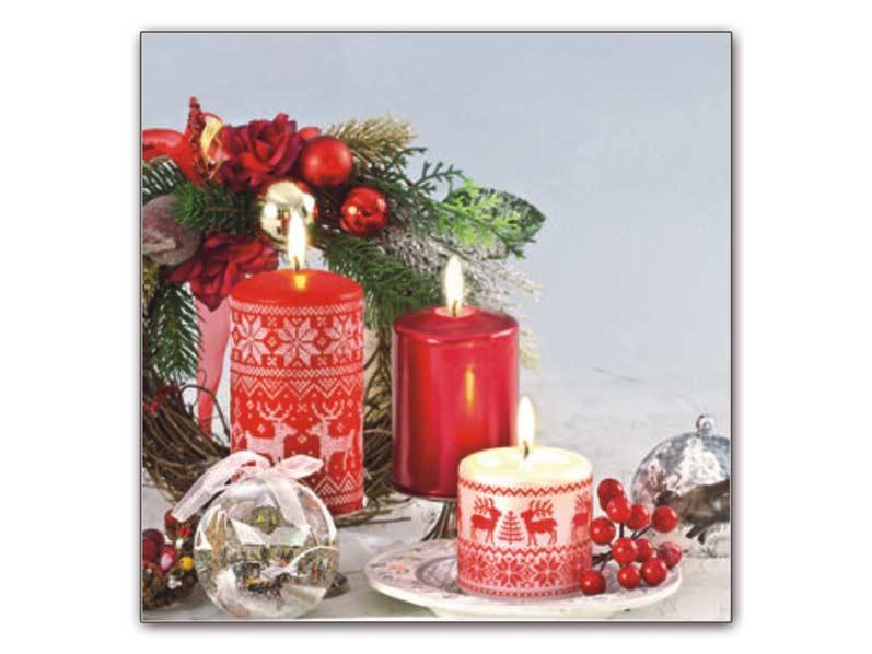 Obrúsok vianočný 85V AHA 33x33 BN12- 047