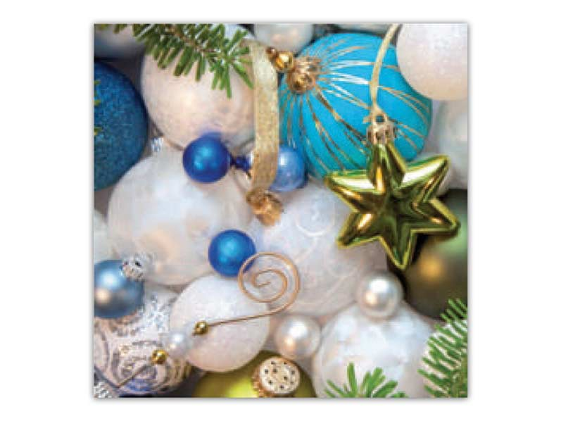 Obrúsok vianočný AHA 33x33 BN15- 050