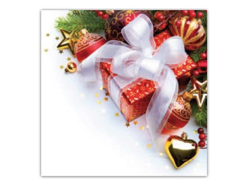 Obrúsok vianočný AHA 33x33 BN15- 065
