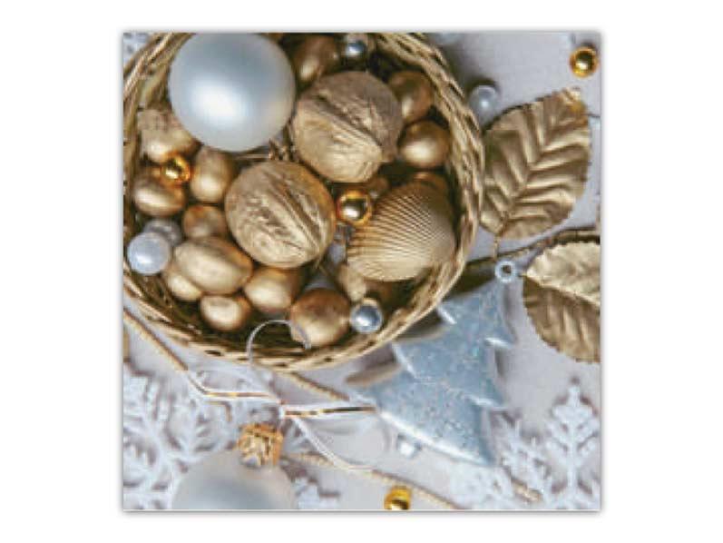 Obrúsok vianočný AHA 33x33 BN15- 076