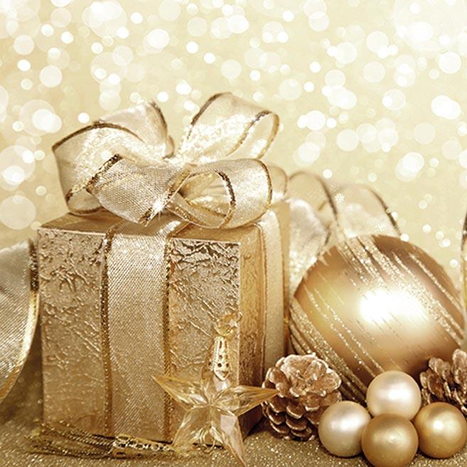 obrúsok vianočný P 33x33  MES100274 2010829