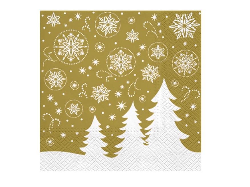 obrúsok vianočný P 33x33  SDL058709 2010864