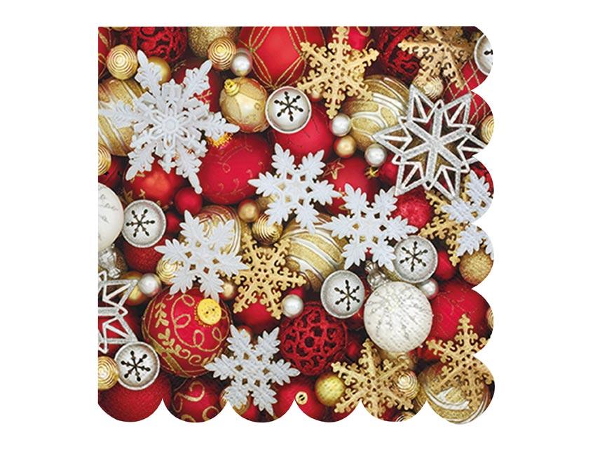 obrúsok vianočný P 33x33  SDL011900 2010865
