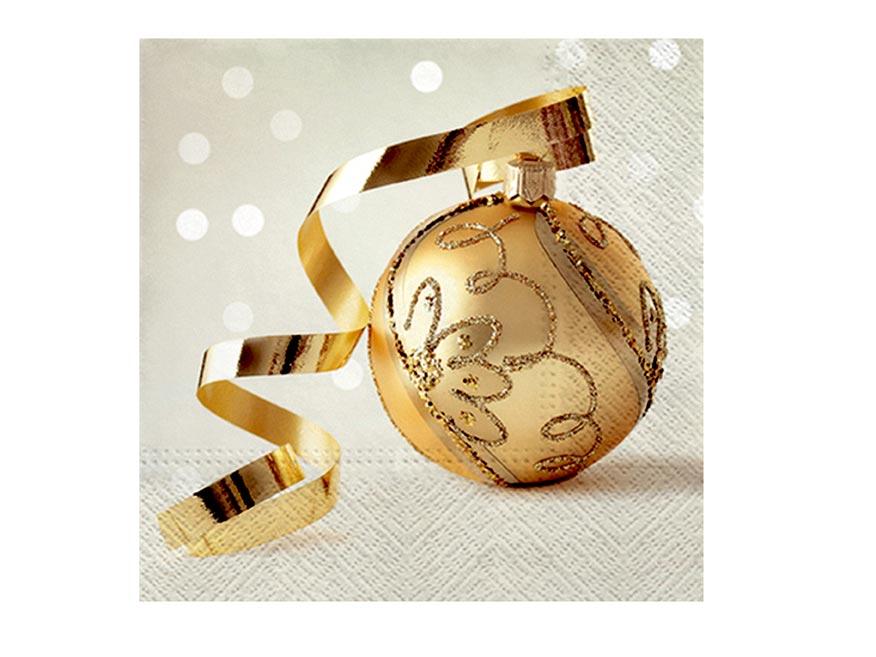 obrúsok vianočný P 33x33  SDL016399 2010887