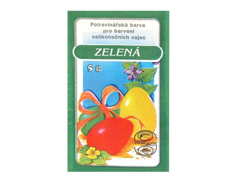 Veľkonočné farby na vajíčka 701 zelená 5g