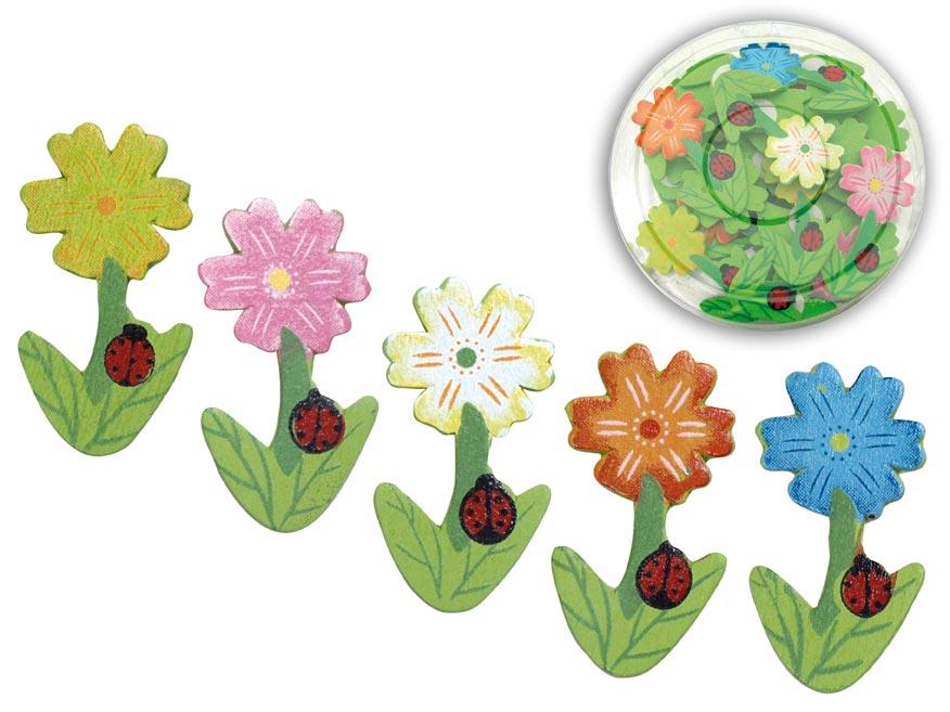 Veľkonočná dekorácia H sada č.44 24ks kvet H53-4547-5