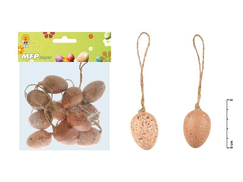 vajíčka plast 4cm/12ks S160085A 2221182