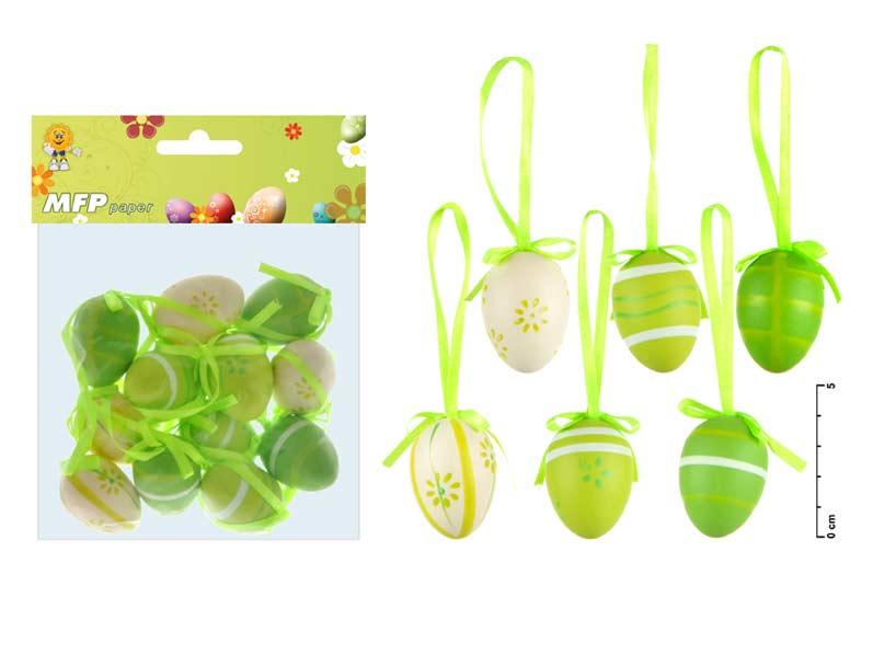 vajíčka plast 4cm/12ks S160022G 2221184