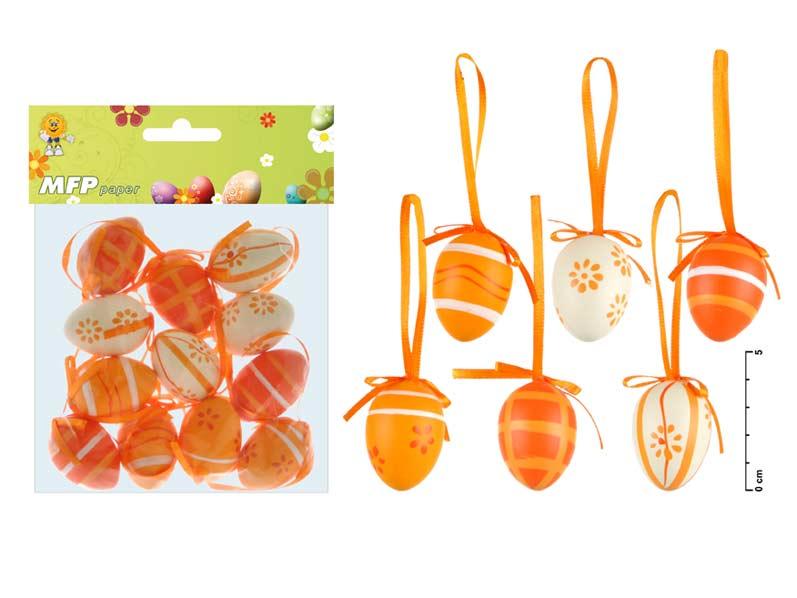 vajíčka plast 4cm/12ks S160022O 2221185