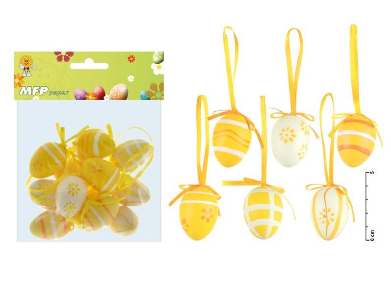 Vajíčka plast 4cm/12ks S160022Y