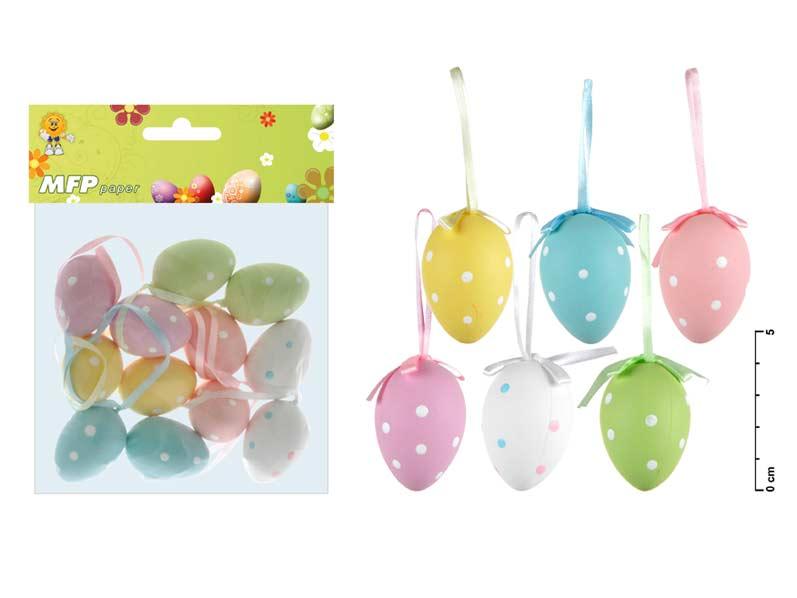 vajíčka plast 4cm/12ks S160100 2221191