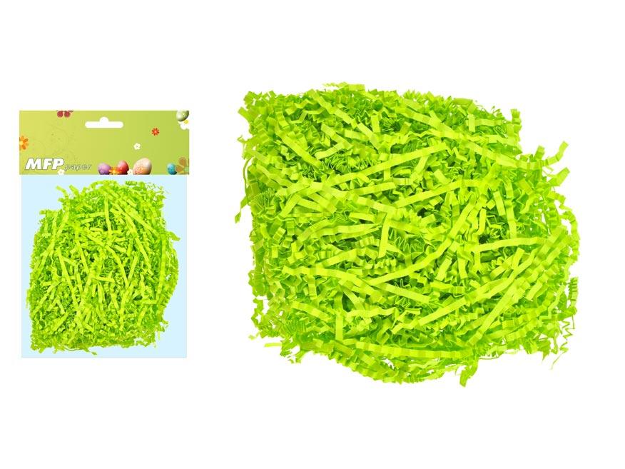 Tráva papierová 20g zelená