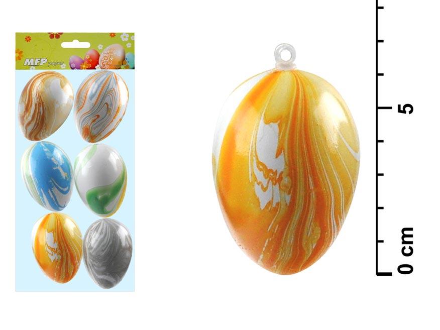 MFP 2221247 vajíčka plast 6cm/6ks S170181