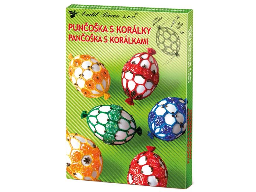 Sada 7726 na dekorovanie vajíčok - pančuška s gorálkami