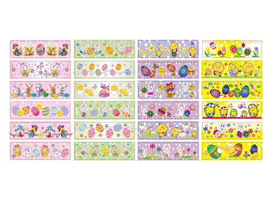 veľkonočná obtlač na vajíčka 1001 košilky mix motívov 12 2221396