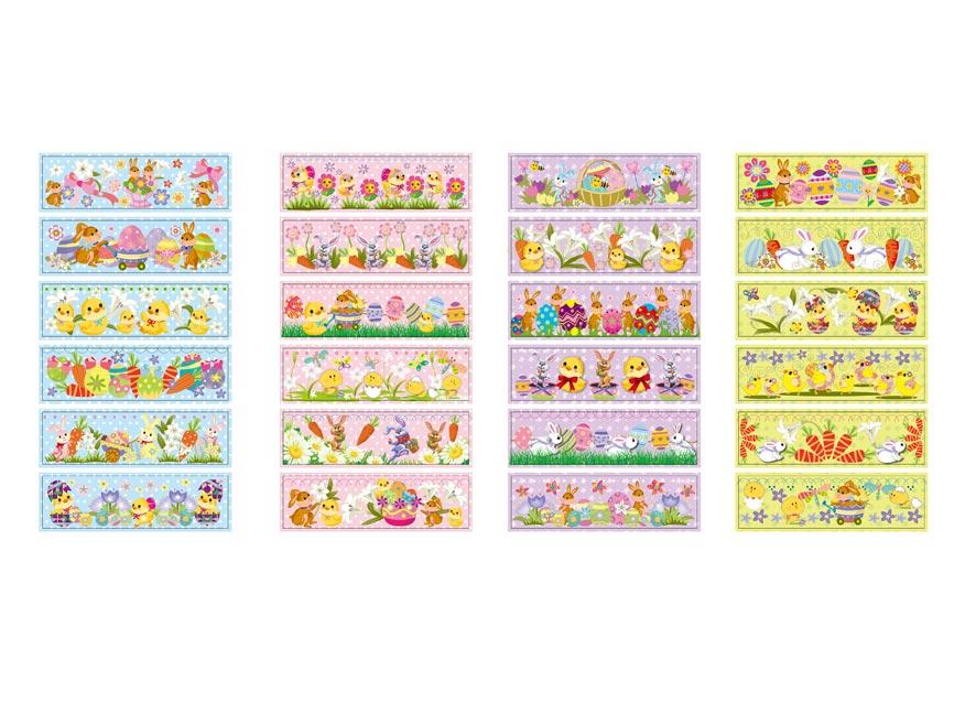 Veľkonočná obtlač na vajíčka 1002 košilky mix motívov 12
