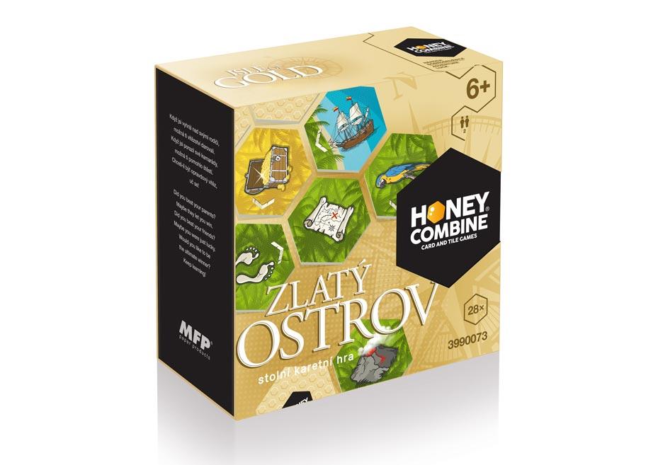 stolová hra HONEY COMBINE / ISLE OF GOLD 3990073