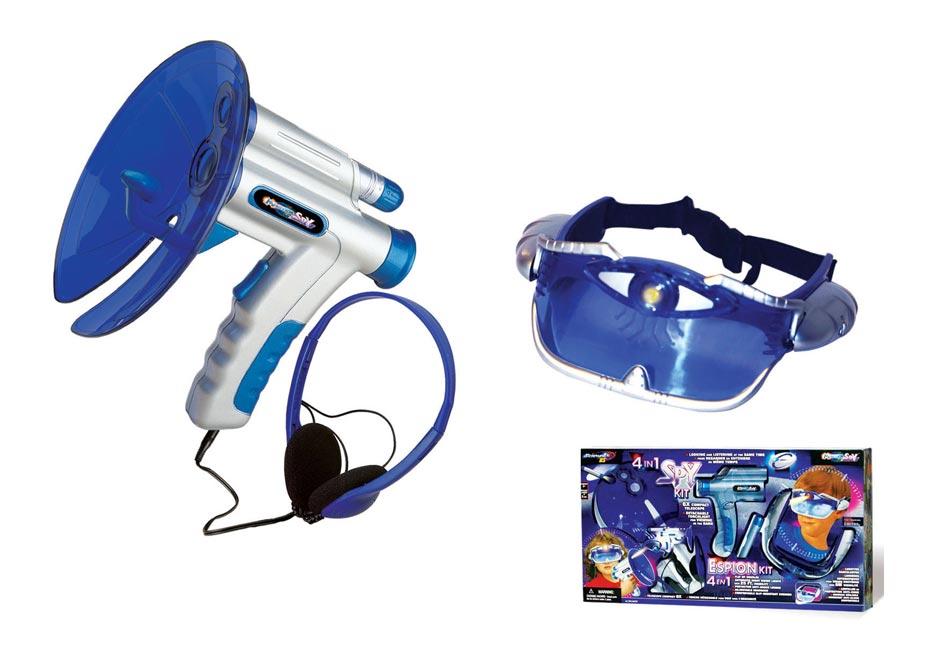 Okuliare a odpočúvač SPY W007539