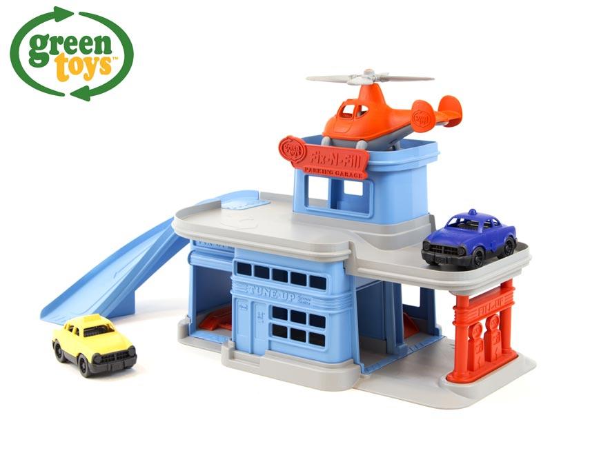 Green Toys Parkovacia garáž W009296