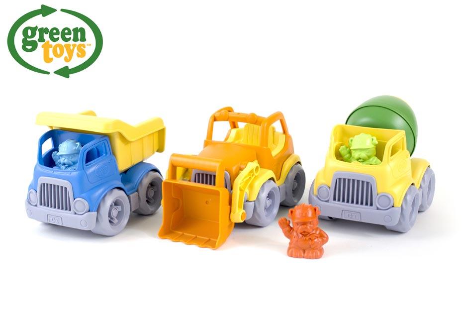 Green Toys Stavebné stroje set W009297