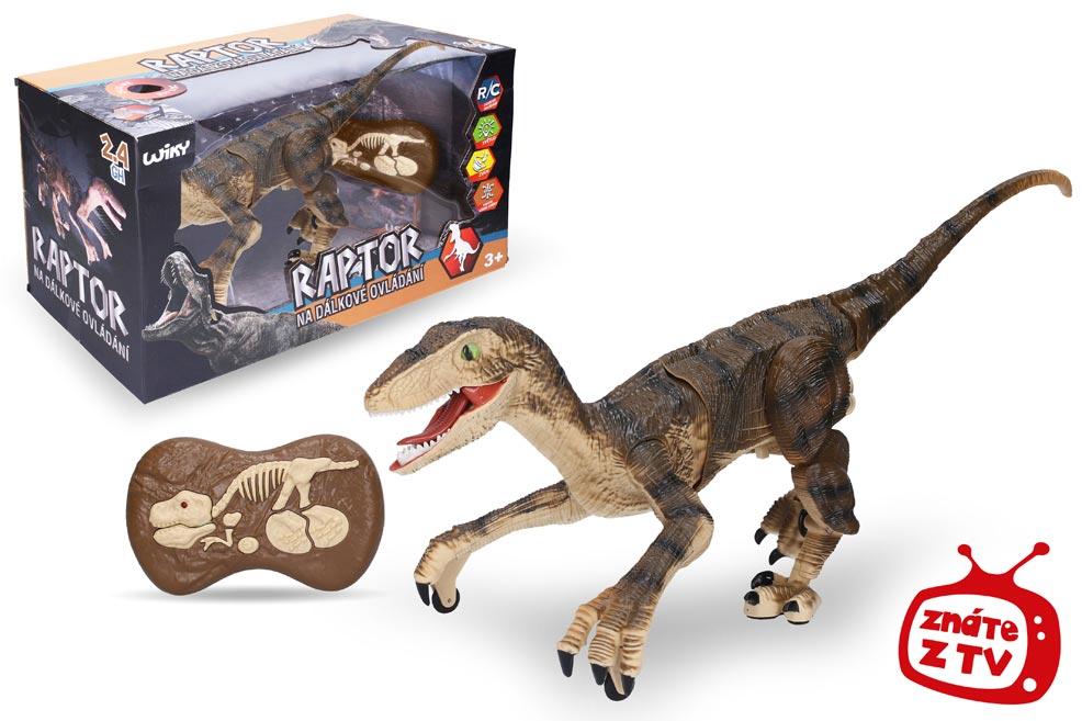 Raptor RC na diaľkové ovládanie hnedý 45cm W009189