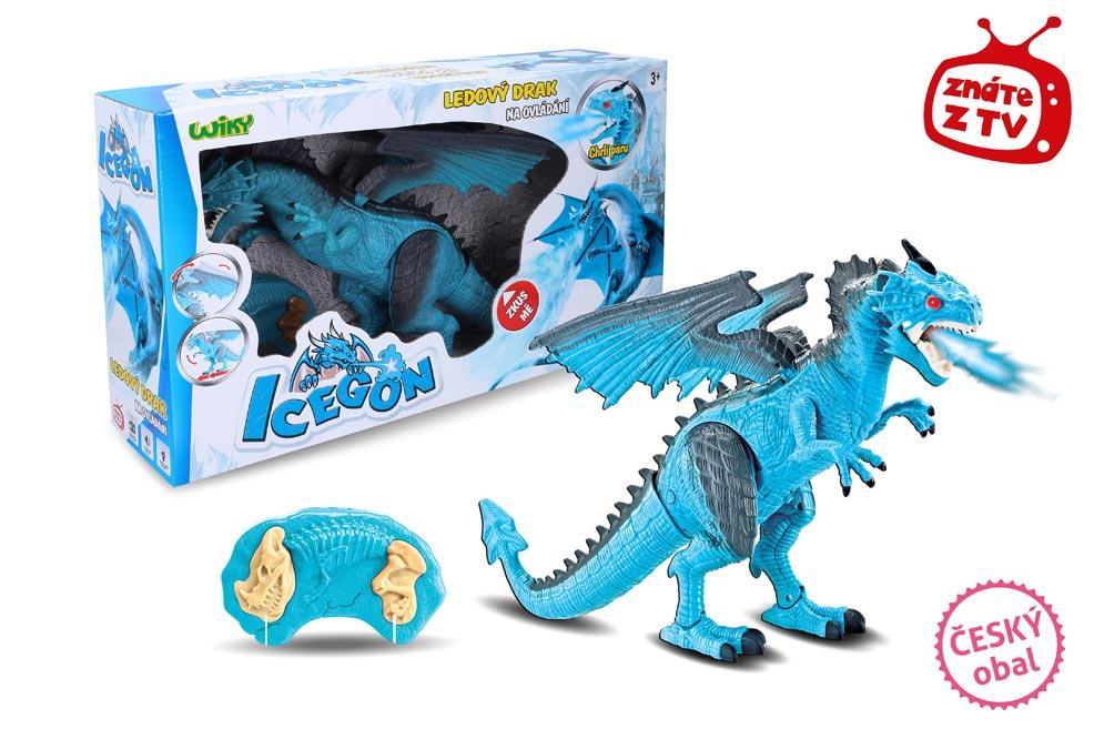 Icegon (ľadový drak) s efektami RC 45cm W001600