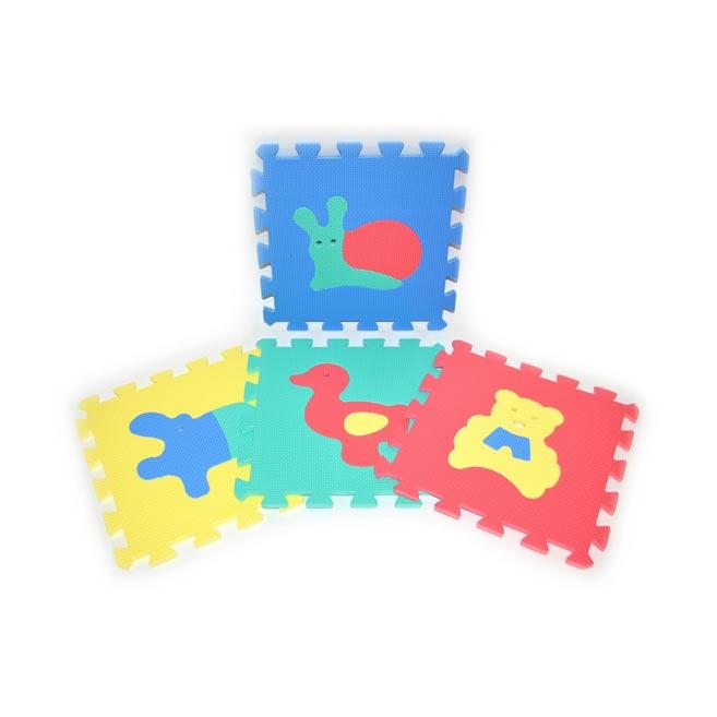 Bloky mäkké - Zvieratá 10ks W118621