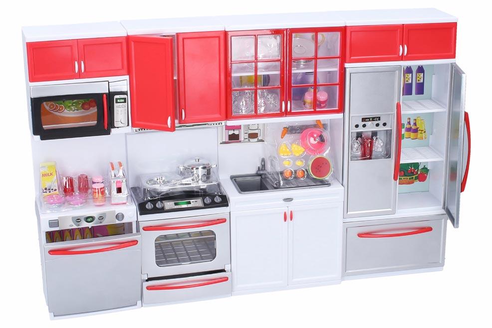 Kuchynka s efektami 50x8x32cm W006821