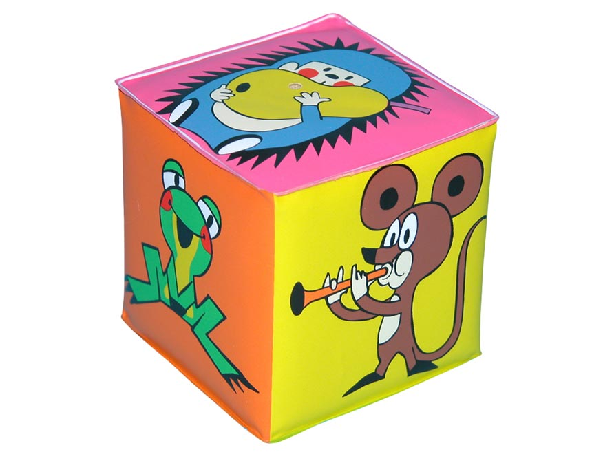 Pískacia kocka - Krtko W170600