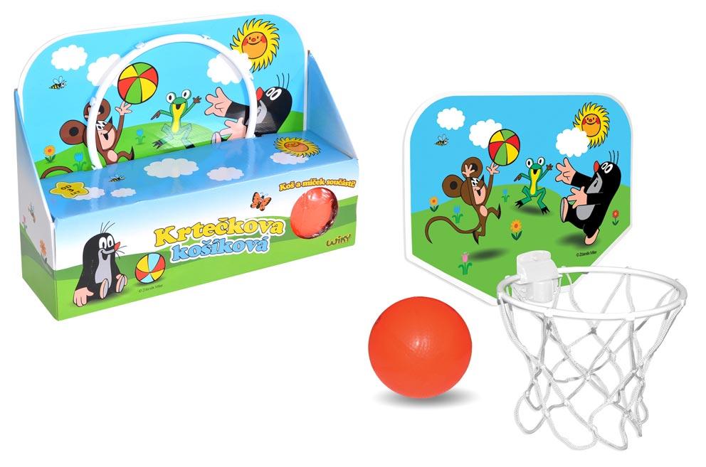 Basketbal set Krtko 33x25cm W170909